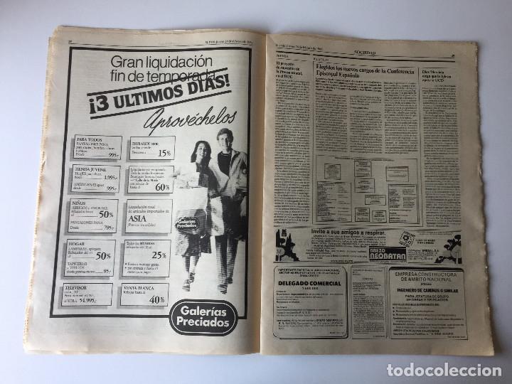 Coleccionismo de Periódico El País: LOTE 2 PERIÓDICOS EL PAÍS - TRAS EL GOLPE DE ESTADO 23F TEJERO ESPAÑA - 26 FEB Y 1 DE MAR 1981 - Foto 8 - 186446012
