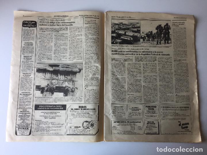 Coleccionismo de Periódico El País: LOTE 2 PERIÓDICOS EL PAÍS - TRAS EL GOLPE DE ESTADO 23F TEJERO ESPAÑA - 26 FEB Y 1 DE MAR 1981 - Foto 12 - 186446012