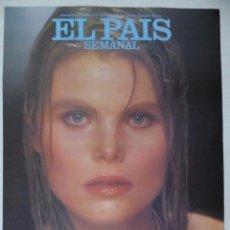 Coleccionismo de Periódico El País: RECORTE EL PAIS SEMANAL 2ª ÉPOCA 363 (25-03-1984): PORTADA MARIEL HEMMINGWAY (1 HOJA). Lote 191431803