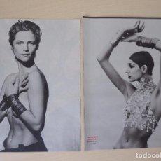 Coleccionismo de Periódico El País: RECORTE EL PAIS SEMANAL CON FOTOS DE PETER LINDBERG DEL LIBRO IMAGES OF WOMEN (2003). Lote 191431808
