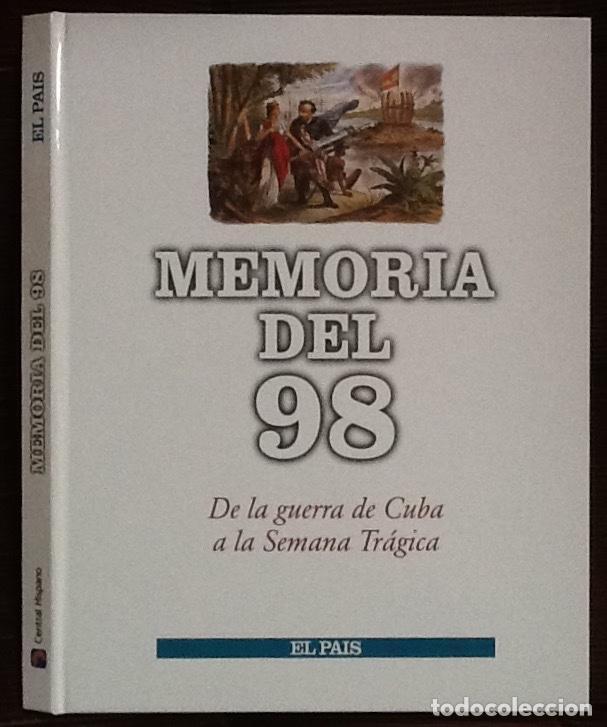 MEMORIA DEL 98. COLECCIONABLE DE EL PAÍS. TAPAS PARA ENCUADERNAR, SIN FASCÍCULOS (Coleccionismo - Revistas y Periódicos Modernos (a partir de 1.940) - Periódico El Páis)