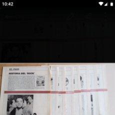 Coleccionismo de Periódico El País: HISTORIA DEL ROK. Lote 194859455