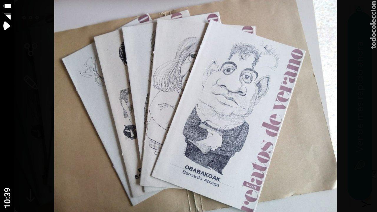 RELATOS DE VERANO (Coleccionismo - Revistas y Periódicos Modernos (a partir de 1.940) - Periódico El Páis)
