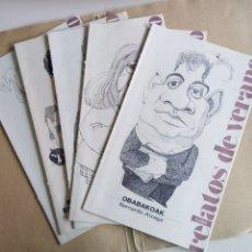 Coleccionismo de Periódico El País: RELATOS DE VERANO. Lote 194860963