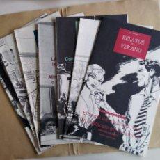 Coleccionismo de Periódico El País: RELATOS DE VERANO (SERIE NEGRA). Lote 194861231