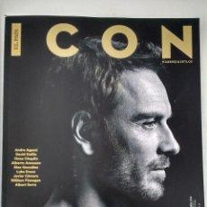 Coleccionismo de Periódico El País: REVISTA ICON Nº 34 (DICIEMBRE 2016) MICHAEL FASSBENDER, ANDRE AGASSI, DAVID DELFIN, OONA CHAPLIN.... Lote 195215247