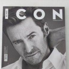 Coleccionismo de Periódico El País: REVISTA ICON Nº 46 (DICIEMBRE 2017) PVP 3,50€ HUGH JACKMAN, NOEL GALLAGHER, BÁRBARA LENNIE,.... Lote 195217238
