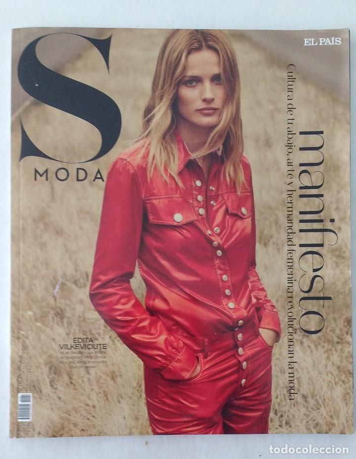REVISTA -S- MODA Nº 240 (AGOSTO 2018) PVP 3,50€ - EDITA VILKEVICIUTE (Coleccionismo - Revistas y Periódicos Modernos (a partir de 1.940) - Periódico El Páis)