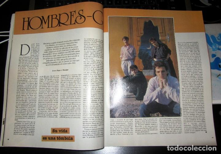 Coleccionismo de Periódico El País: EL PAIS SEMANAL 470 1986 MARITA VILLALONGA HOMBRES G LOS BOLONIOS - Foto 2 - 195353675