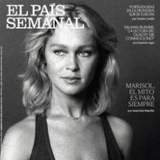 Coleccionismo de Periódico El País: REVISTA EL PAÍS SEMANAL 2250. MARISOL, EL MITO ES PARA SIEMPRE. Lote 195441185