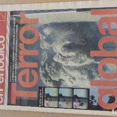 Coleccionismo de Periódico El País: NUEVA YORK, 11 DE SEPTIEMBRE DE 2001. LOTE DE 16 PERIÓDICOS. Lote 195738726