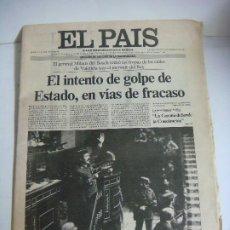 Collectionnisme de Journal El País: PERIODICO DEL PAIS Nº-1494 FECHA 24-FEBRERO-1981 INTENTO DEL GOLPE DE ESTADO. Lote 266973579