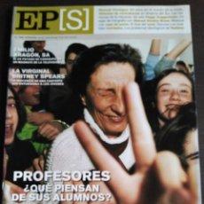 Coleccionismo de Periódico El País: EL PAIS SEMANAL Nº 1328. 2002. BRITNEY SPEARS. Lote 202757438