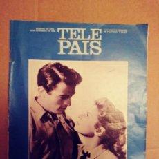 Coleccionismo de Periódico El País: TELE PAIS: N:10/AÑO 1.16 DE DICIEMBRE DE 1988.SUPLEMENTO SEMANAL. TV & RADIO.. Lote 203004392