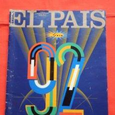 Coleccionismo de Periódico El País: EL PAIS SEMANAL GUIA DEL 92 29 DICIEMBRE 1991 EXCELENTE ESTADO. Lote 204337252