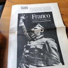 Coleccionismo de Periódico El País: EL PAÍS EXTRA. 3 DE DICIEMBRE DE 1992. Lote 205097697
