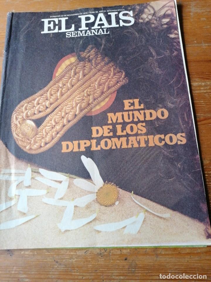 EL PAÍS SEMANAL. N. 85 (Coleccionismo - Revistas y Periódicos Modernos (a partir de 1.940) - Periódico El Páis)