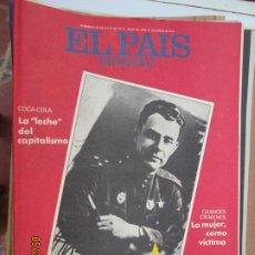 Collezionismo di Periódico El País: EL PAIS SEMANAL REVISTA Nº 68 - JULIO-1978 - BREJNEV CUENTA SU GUERRA - COCA COLA -LECHE DEL CAPITAL. Lote 209871242