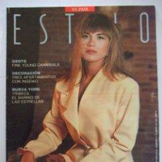 Coleccionismo de Periódico El País: REVISTA SUPLEMENTO ESTILO EL PAIS Nº 119 27 ENERO DE AÑO 1991 PORTADA JULIA OTERO PERIÓDICO MAGAZINE. Lote 211507062