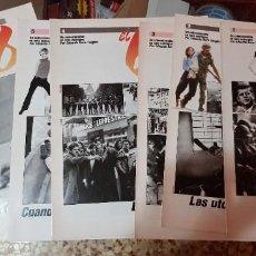 Coleccionismo de Periódico El País: LOTE 6 FASCÍCULOS COLECCIONABLES - EL 68 - EL PAÍS - COMPLETO SIN TAPAS. Lote 212619817