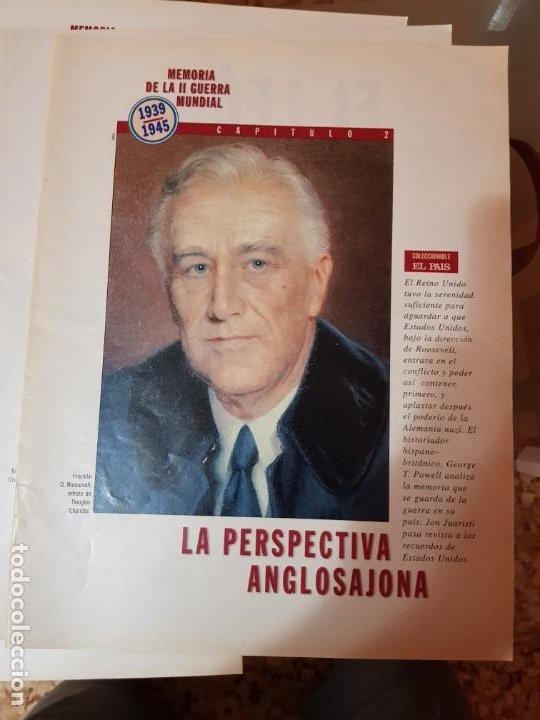 Coleccionismo de Periódico El País: LOTE 8 FASCÍCULOS COLECCIONABLES - MEMORIA SEGUNDA GUERRA MUNDIAL - EL PAÍS - COMPLETO SIN TAPAS - Foto 3 - 212620258