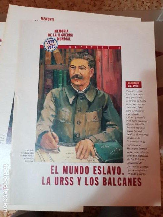 Coleccionismo de Periódico El País: LOTE 8 FASCÍCULOS COLECCIONABLES - MEMORIA SEGUNDA GUERRA MUNDIAL - EL PAÍS - COMPLETO SIN TAPAS - Foto 4 - 212620258