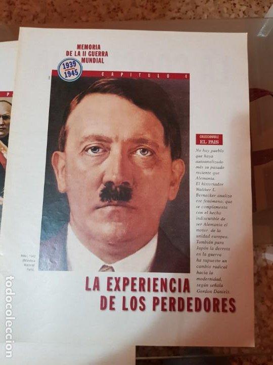 Coleccionismo de Periódico El País: LOTE 8 FASCÍCULOS COLECCIONABLES - MEMORIA SEGUNDA GUERRA MUNDIAL - EL PAÍS - COMPLETO SIN TAPAS - Foto 5 - 212620258