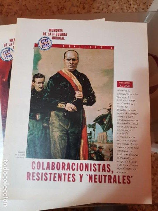 Coleccionismo de Periódico El País: LOTE 8 FASCÍCULOS COLECCIONABLES - MEMORIA SEGUNDA GUERRA MUNDIAL - EL PAÍS - COMPLETO SIN TAPAS - Foto 6 - 212620258