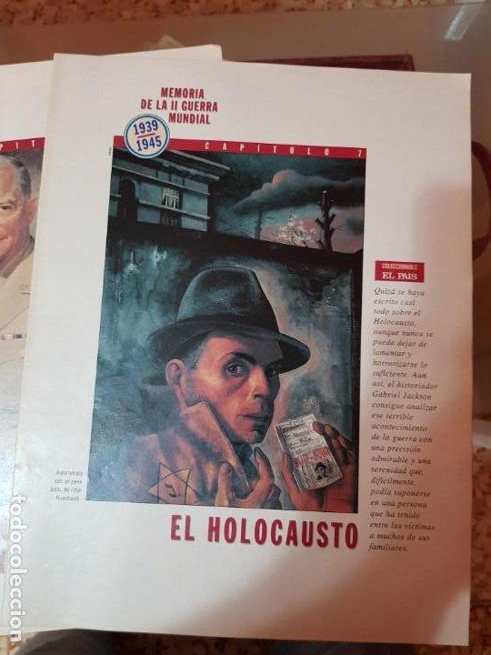 Coleccionismo de Periódico El País: LOTE 8 FASCÍCULOS COLECCIONABLES - MEMORIA SEGUNDA GUERRA MUNDIAL - EL PAÍS - COMPLETO SIN TAPAS - Foto 8 - 212620258