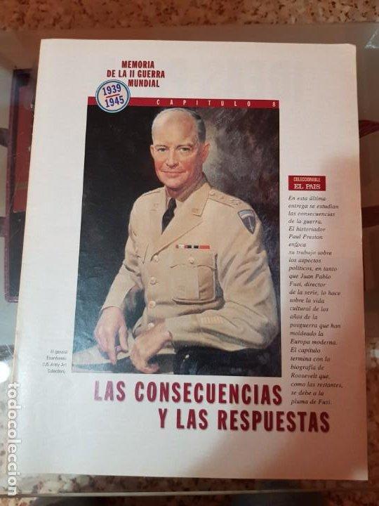 Coleccionismo de Periódico El País: LOTE 8 FASCÍCULOS COLECCIONABLES - MEMORIA SEGUNDA GUERRA MUNDIAL - EL PAÍS - COMPLETO SIN TAPAS - Foto 9 - 212620258