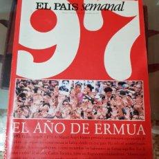 Coleccionismo de Periódico El País: EL PAÍS SEMANAL - Nº 1109 - ESPECIAL AÑO 1997 - EL AÑO DE ERMUA. Lote 212620526