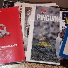 Coleccionismo de Periódico El País: LOTE CON MÁS DE 60 SUPLEMENTOS EXTRA DE PERIÓDICOS EL PAÍS - EL MUNDO - ABC. Lote 212624083