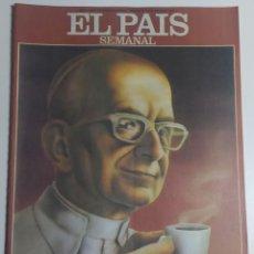 Coleccionismo de Periódico El País: PAÍS SEMANAL - NÚMERO 10 - 12 JUNIO 1977 - UN DÍA EN LA VIDA DEL PAPA, PABLO VI. Lote 213081817