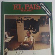 Coleccionismo de Periódico El País: PAÍS SEMANAL - NÚMERO 21 - 4 SEPTIEMBRE 1977 - EDUARDO CHILLIDA, PEINE, VIENTOS, BLANCO CHIVITE. Lote 213083775