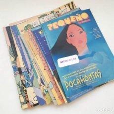 Coleccionismo de Periódico El País: LOTE 28 FASCICULOS TEBEO TITULO PEQUEÑO DIARIO EL PAIS AÑO 1995-FASCICULOS PERIODICO PAIS,CUENTO. Lote 213720701