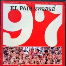 Coleccionismo de Periódico El País: EL PAÍS SEMANAL Nº 1109, 28 DE DICIEMBRE DE 1997 – EL AÑO DE ERMUA. Lote 213745540