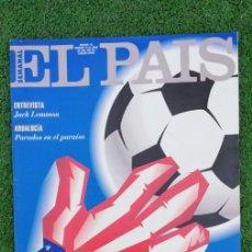 Collezionismo di Periódico El País: EL PAIS SEMANAL 1994 N 173 12/6/94 EL MUNDIAL DEL DOLAR. Lote 214691401