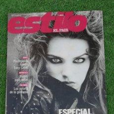 Collezionismo di Periódico El País: EL PAIS ESTILO 1989 N 49 24/9/89 ESPECIAL MODA OTOÑO. Lote 214712507