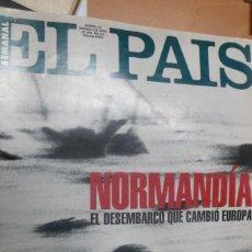 Coleccionismo de Periódico El País: EL PAIS SEMANAL Nº 72 JUNIO DE 1994 NORMANDÍA EL DESEMBARCO QUE CAMBIÓ EUROPA.. Lote 215345406