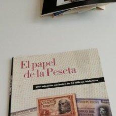 Coleccionismo de Periódico El País: CAJ-98 REVISTA EL PAPEL DE LA PESETA EL PAIS AGUILAR. Lote 215567440