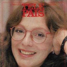 Coleccionismo de Periódico El País: TELE PAÍS: ENTREVISTA CON ROSA LEÓN. 1992. Lote 215761116