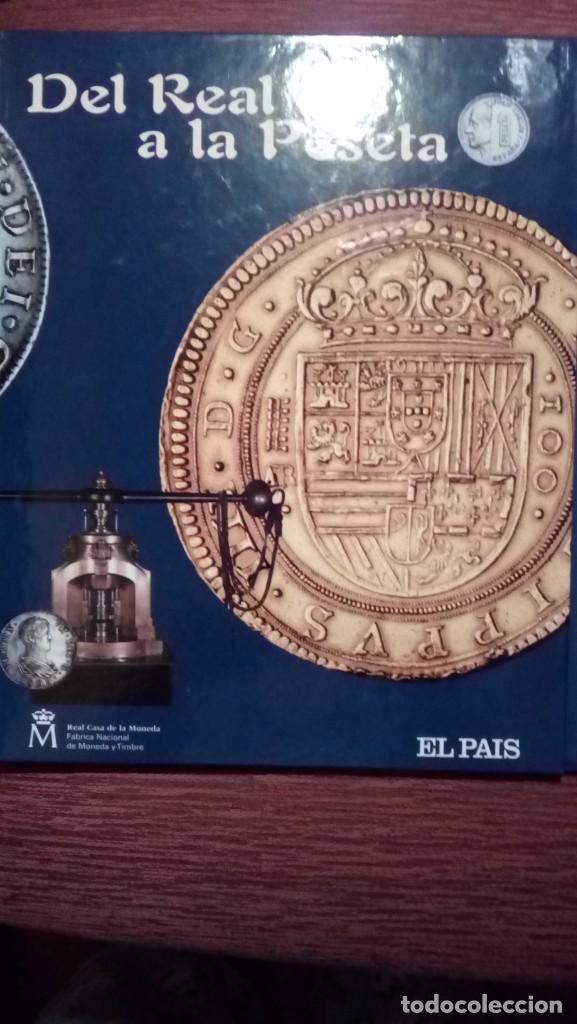 TAPAS PRIMER TOMO DEL REAL A LA PESETA (Coleccionismo - Revistas y Periódicos Modernos (a partir de 1.940) - Periódico El Páis)