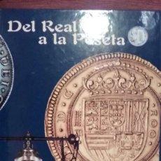 Coleccionismo de Periódico El País: TAPAS PRIMER TOMO DEL REAL A LA PESETA. Lote 220300477