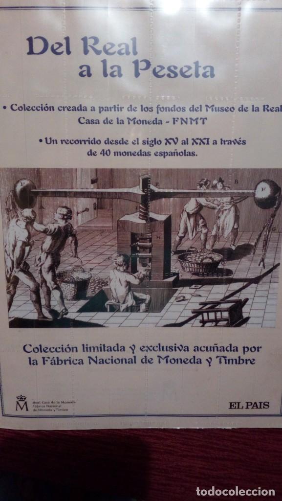 Coleccionismo de Periódico El País: tapas primer tomo del Real a la peseta - Foto 2 - 220300477
