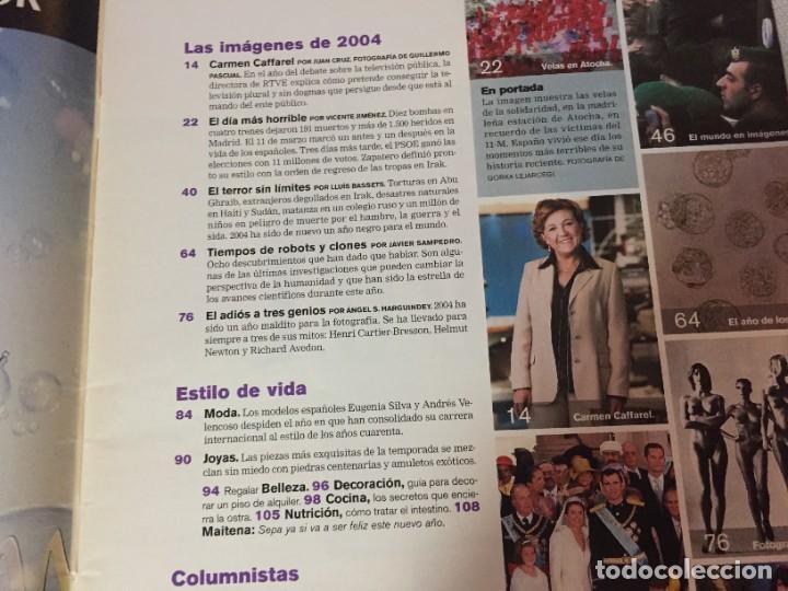 Coleccionismo de Periódico El País: EL PAIS SEMANAL Nº 1474 DICIEMBRE 2004 11M 11 M 11 DE MARZO - Foto 2 - 221510948