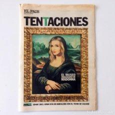 Coleccionismo de Periódico El País: EL PAÍS DE LAS TENTACIONES - NÚMERO 398 - 8 JUNIO 2001. Lote 221976546