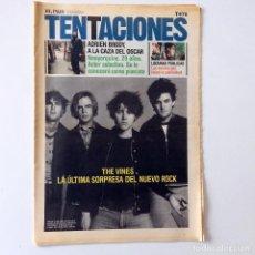 Coleccionismo de Periódico El País: EL PAÍS DE LAS TENTACIONES - NÚMERO 476 - 6 DICIEMBRE 2002. Lote 221976702