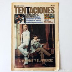 Coleccionismo de Periódico El País: EL PAÍS DE LAS TENTACIONES - NÚMERO 433 - 8 FEBRERO 2002. Lote 221976823