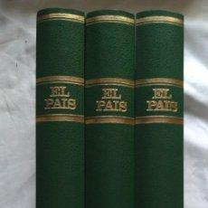 Coleccionismo de Periódico El País: REVISTAS EL PAIS ENCUADERNADO EN 3 TOMOS 1991 (23 REVISTAS). Lote 224998255
