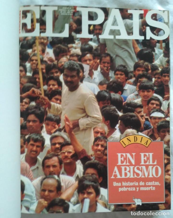 Coleccionismo de Periódico El País: REVISTAS EL PAIS ENCUADERNADO EN 3 TOMOS 1991 (23 REVISTAS) - Foto 13 - 224998255